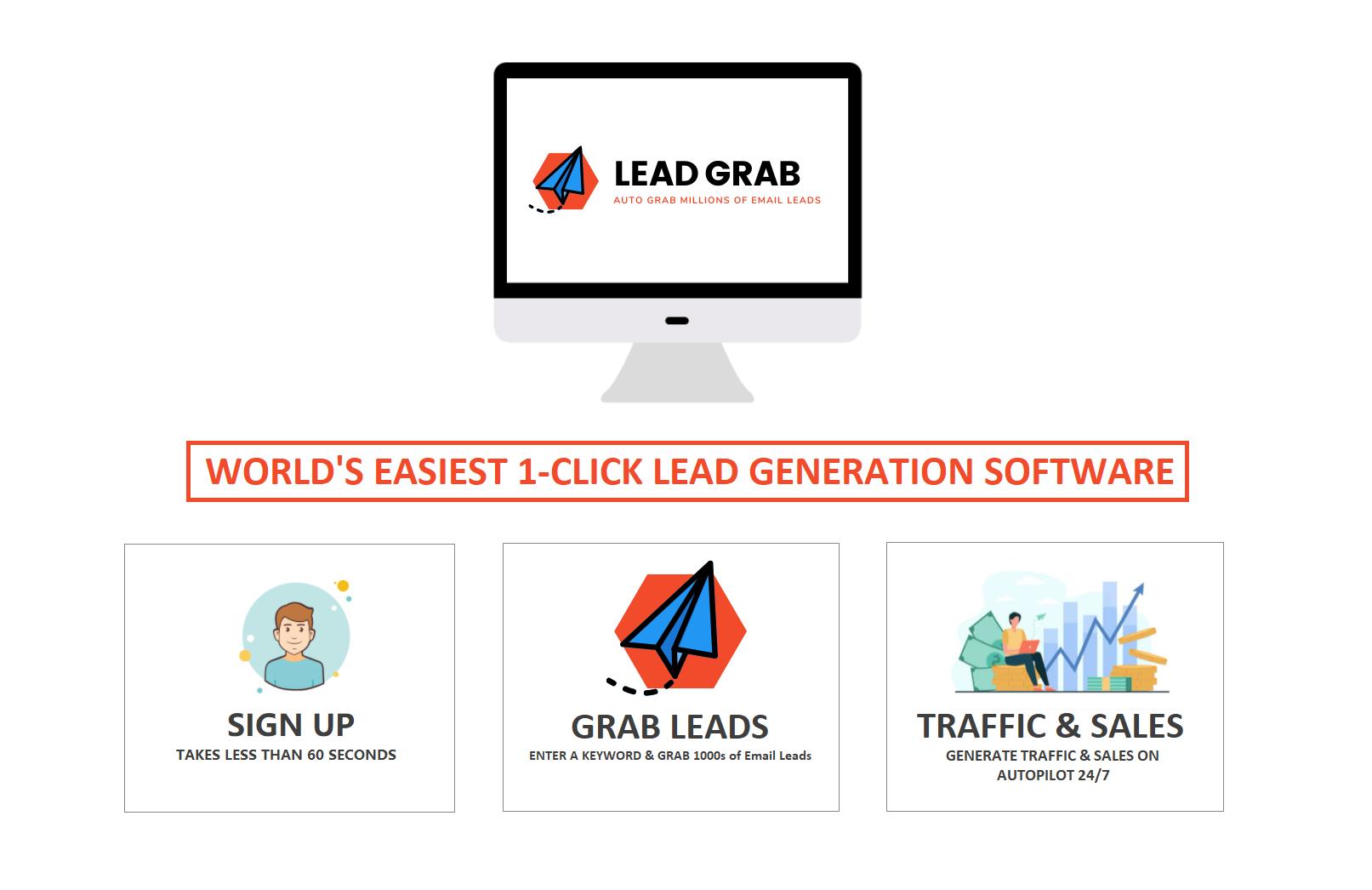 LEAD GRAB   LEADGRAB   Lead Generation